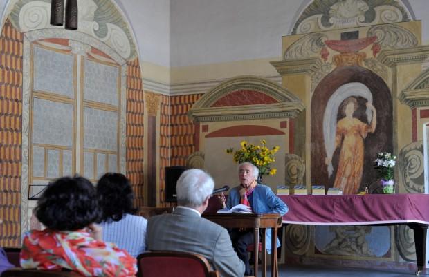 Lesung im Schloss Kobersdorf mit Dietmar Grieser