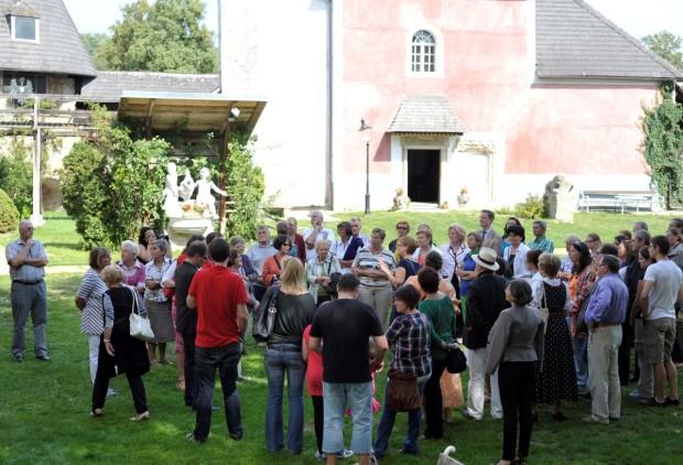 Schlossführung Kobersdorf Anni 1309