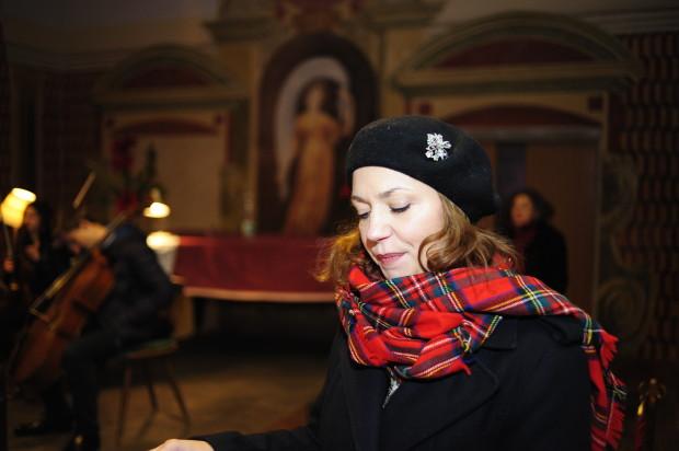 Schauspielerin Simone Fuith bei der Lesung