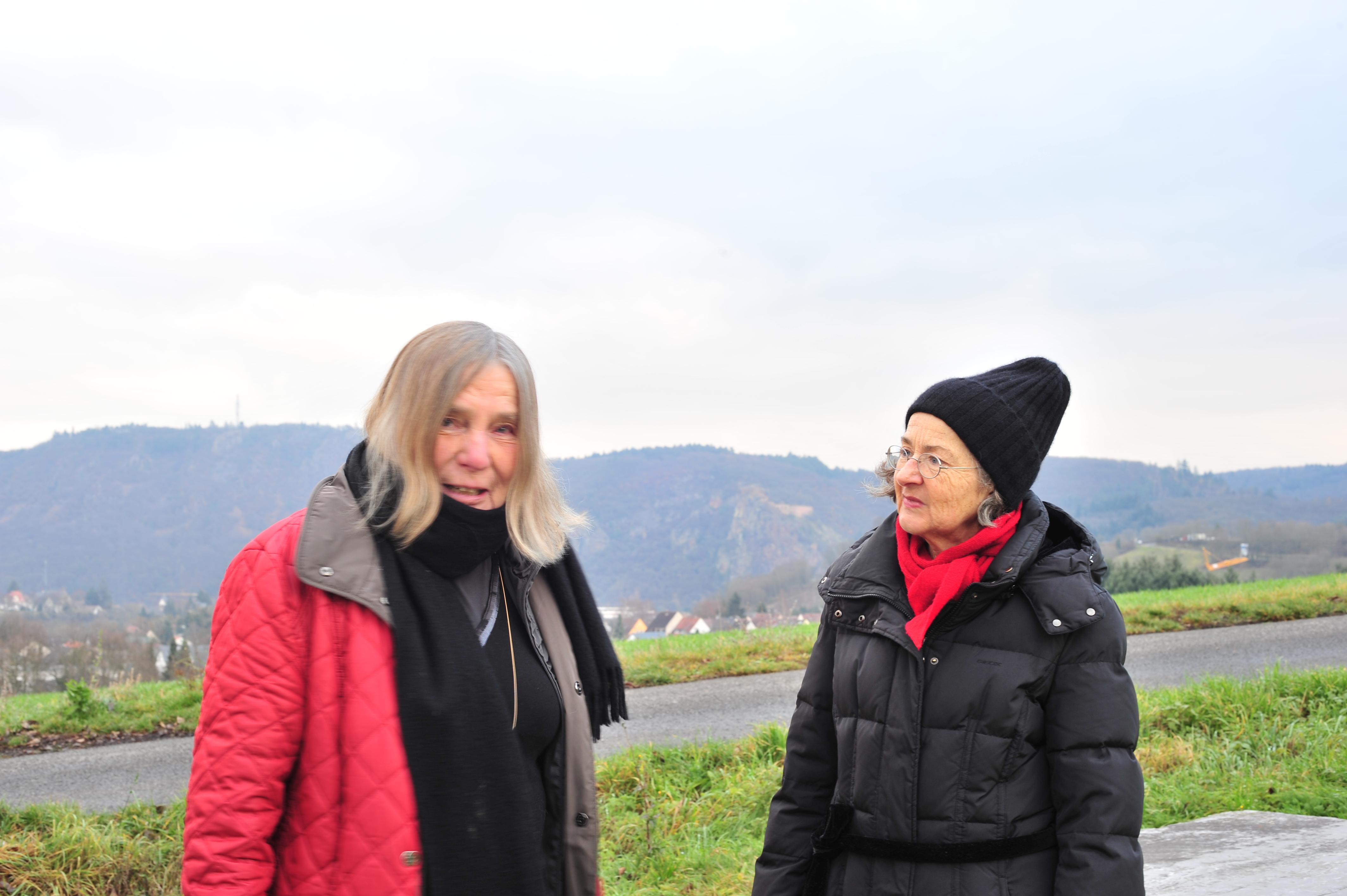 Anna Kubach-Wilmsen und Beatrice Simonsen